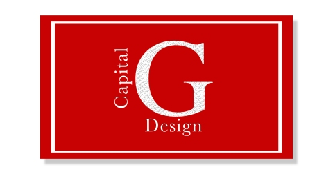 Capital Gee Design Business Card Front